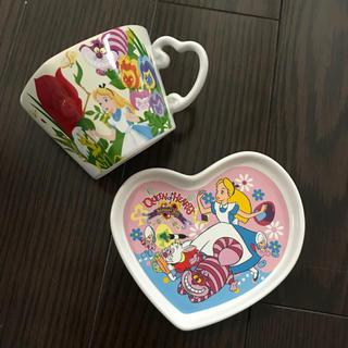 ディズニー(Disney)のTDL アリス カップ&お皿(食器)