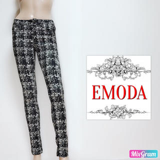 EMODA - エモダ❤美脚 脚やせ!総柄 スキニーパンツ❤ジェイダ マウジー スライ
