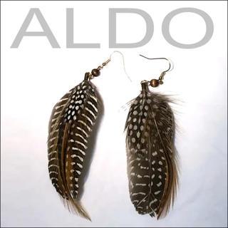 アルド(ALDO)の【ALDO】羽根モチーフピアス(ピアス)