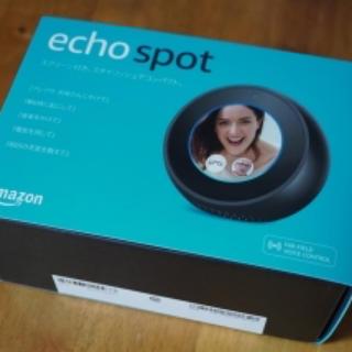 エコー(ECHO)のEcho Spot (エコースポット) (スピーカー)