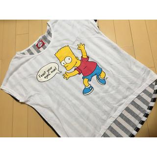 シマムラ(しまむら)の【シンプソンズ Tシャツ】(Tシャツ(半袖/袖なし))