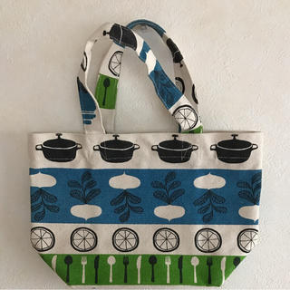 クッカ(kukkA)の新品 北欧風 帆布 トートバッグ(トートバッグ)