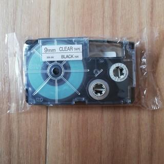 テープカートリッジ 9ミリ クリア×ブラック(その他 )