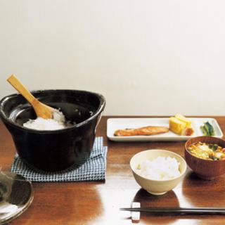 ムジルシリョウヒン(MUJI (無印良品))の土釜おこげ 無印(鍋/フライパン)