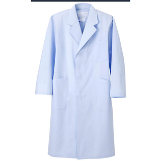医療用白衣 メンズ ナガイレーベン 新品 KEX-5110 ブルー 送料込