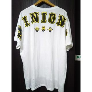 シマムラ(しまむら)のミニオン バックプリントTシャツ  4L  大きいサイズ  (Tシャツ(半袖/袖なし))