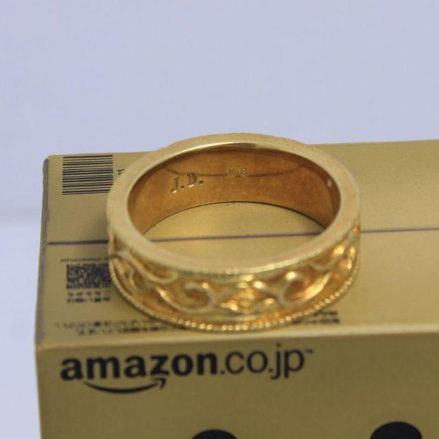 Justin Davis(ジャスティンデイビス)のジャスティンデイビス K18YG  14号 エターナルラブリング 超高級 超希少 メンズのアクセサリー(リング(指輪))の商品写真