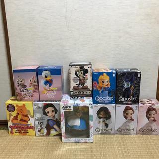 ディズニー(Disney)のQposket フィギュアセット(アニメ/ゲーム)