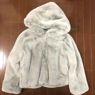 シールームリン(SeaRoomlynn)のSearoomlynn フードボリュームFURコート(毛皮/ファーコート)