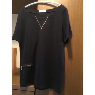 アダムエロぺ(Adam et Rope')のADAM ET ROPE' ネックレスTシャツ(Tシャツ(半袖/袖なし))