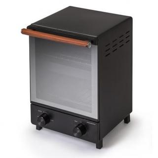 アマダナ(amadana)のamadana タテ型トースター 大人気完売 ATT-T11-K ブラック  (調理機器)