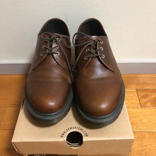 ドクターマーチン(Dr.Martens)の9/8まで限定値下げドクターマーチン 3ホール ブラウン 美品(ローファー/革靴)