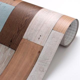 壁紙シール 木目 DWP-07 50cm×3m はがせる壁紙 シールタイプ