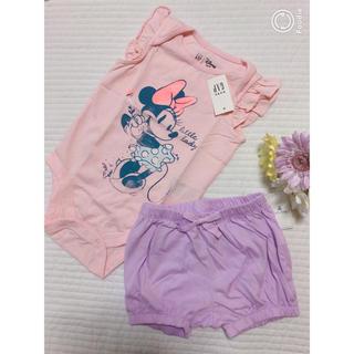 babyGAP - 新品♡ロンパース ミニーちゃん パンツ 80