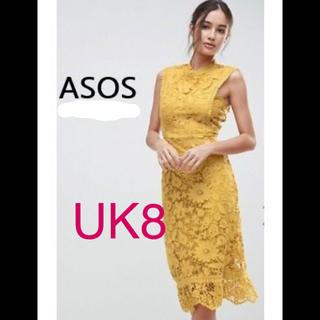 エイソス(asos)のASOS ワンピース ドレス(ミディアムドレス)