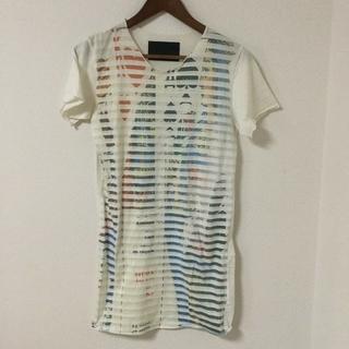トーキングアバウトザアブストラクション(TALKING ABOUT THE ABSTRACTION)のtalking about the abstraction Tシャツ ストライプ(Tシャツ/カットソー(半袖/袖なし))