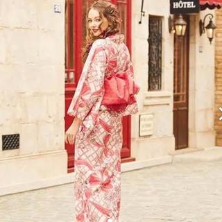 メゾンドフルール(Maison de FLEUR)のメゾンドフルール  Maison de FLEUR 浴衣 赤(浴衣)