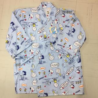 スヌーピー(SNOOPY)のかわいいスヌーピーの婦人甚平 パジャマ代わりにも!レディース(浴衣)