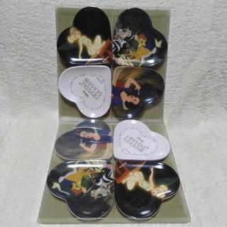 ディズニー(Disney)のばら売りOK★ハート型小皿8枚セット☆ディズニー(食器)