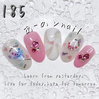 送料&カラー変更1色無料«185»ジェルネイルチップ♡*.