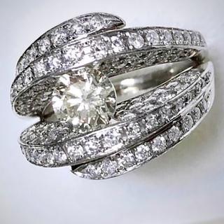 ✨煌めきの逸品‼️✨豪華3,186ctダイヤモンドリング✨(リング(指輪))