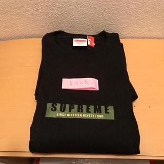 Supreme - ※送料込 Supreme 1994 L/S Tee 黒 L