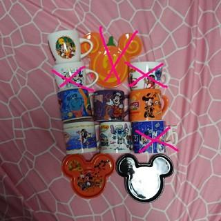 ディズニー(Disney)のディズニーシー ハロウィン ミニ皿(食器)