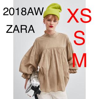 ZARA - ZARA  バルーンスリーブ トップス ブラウス
