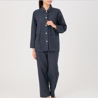 MUJI (無印良品) - 脇に縫い目のない 二重ガーゼパジャマ ・婦人S