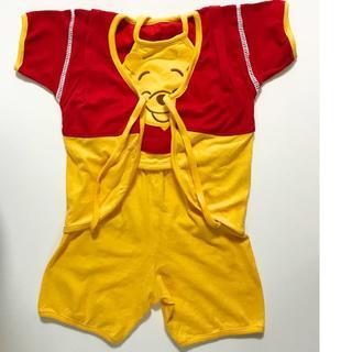 ディズニー(Disney)の90cm くまのプーさん甚平3点セット(甚平/浴衣)