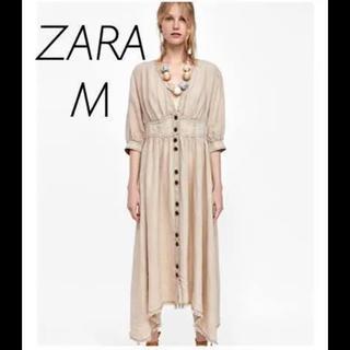 ZARA - 【新品・未使用】ZARA リネン ワンピース Mサイズ