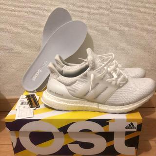 adidas - adidas ultraboost トリプルホワイト 28cm