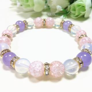 ピンククラック×パープル✨紫009