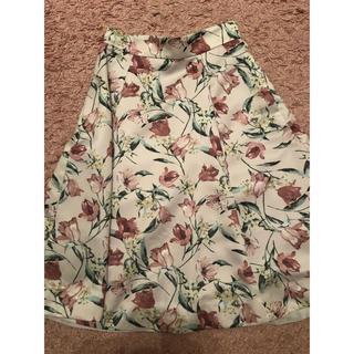 Apuweiser-riche - アプ 花柄スカート