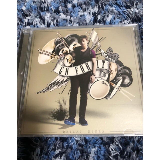 三浦大知 GOFORIT CD エンタメ/ホビーのCD(R&B/ソウル)の商品写真