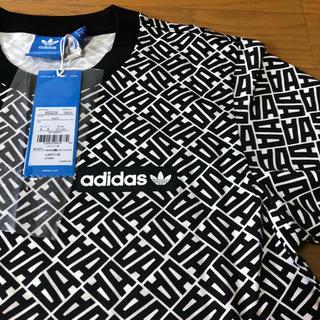 adidas - 新品 アディダスオリジナルス 総柄 tシャツ