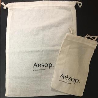 イソップ(Aesop)の〈hana様専用〉Aesop 巾着 大 小 2枚(ショップ袋)