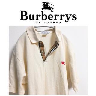 BURBERRY - ポロシャツ バーバリー バーバリーズ ノバチェック ワンポイント ロゴ