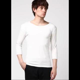 バーナー(Burner)の美品 これからの季節に◎ BURNERにて購入 7部袖 美シルエットカットソー(Tシャツ/カットソー(半袖/袖なし))