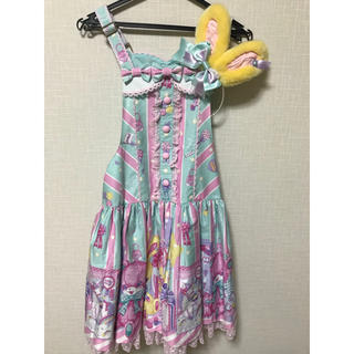 アンジェリックプリティー(Angelic Pretty)のToy doll box サロペットセット(サロペット/オーバーオール)