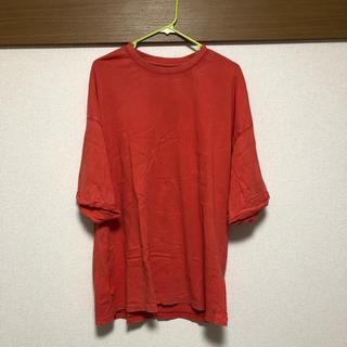 オールセインツ(All Saints)のALL SAINTS  オーバーサイズ tee オレンジ(Tシャツ/カットソー(半袖/袖なし))