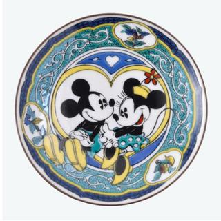 ディズニー(Disney)の【九谷焼】ディズニーリゾート まめ皿 【新品】(食器)