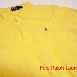 ポロラルフローレン(POLO RALPH LAUREN)の ラルフローレン ポロシャツ Polo LL 黄色 半袖 メンズ(ポロシャツ)