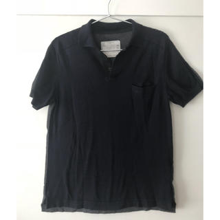 サカイ(sacai)のsacai バイカラーポロシャツ(ポロシャツ)
