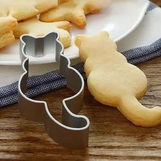 クッキー チョコ  金型  ☆  ねこ 2個組