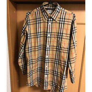 BURBERRY - バーバリー ノバチェックシャツ シャドーホース
