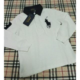 POLO RALPH LAUREN - 新品タグ付◆ラルフローレン◆ビッグポニーポロシャツ◆110センチ
