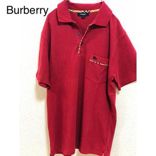 バーバリー(BURBERRY)のBurberry バーバリーロンドン ポロシャツ ワンポイント(ポロシャツ)
