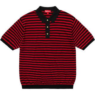 シュプリーム(Supreme)のSupreme Striped Knit Polo(ポロシャツ)