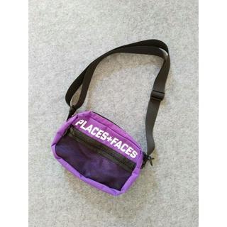 シュプリーム(Supreme)の希少品:P+F ショルダーバッグ 紫色(ショルダーバッグ)